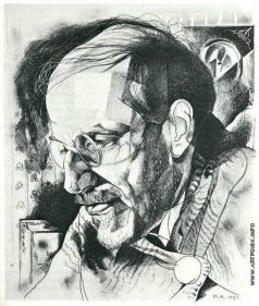 Анненков Ю. П. Портрет Александра Бенуа
