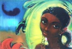 Рерих С. Н. Девушка из южного племени