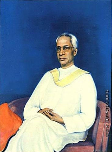 Рерих С. Н. Портрет доктора Радхакришнана