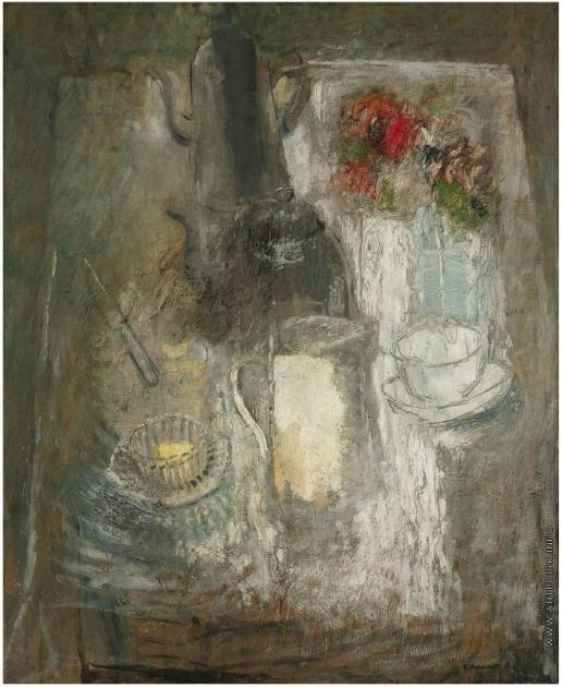Анненков Ю. П. Стол для завтрака