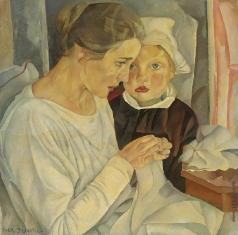 Григорьев Б. Д. Мать и дитя