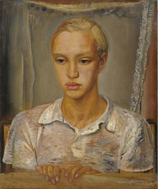 Григорьев Б. Д. Портрет сына художника, Кирилла