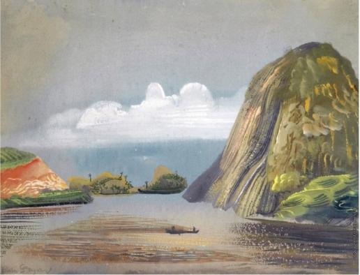 Григорьев Б. Д. Вид Южной Америки