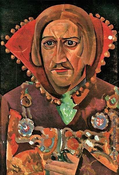 Григорьев Б. Д. Портрет В. Качалова