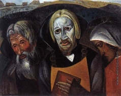 Григорьев Б. Д. Качалов В. И. (в роли царя Федора Иоанновича