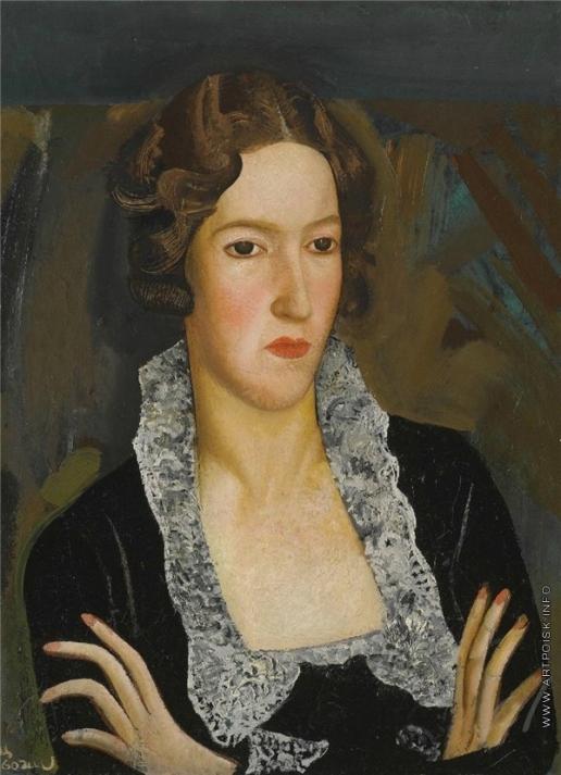 Григорьев Б. Д. Женский портрет
