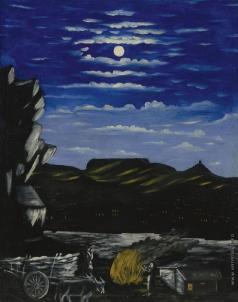 Пиросманашвили Н. А. Хиллат ночью