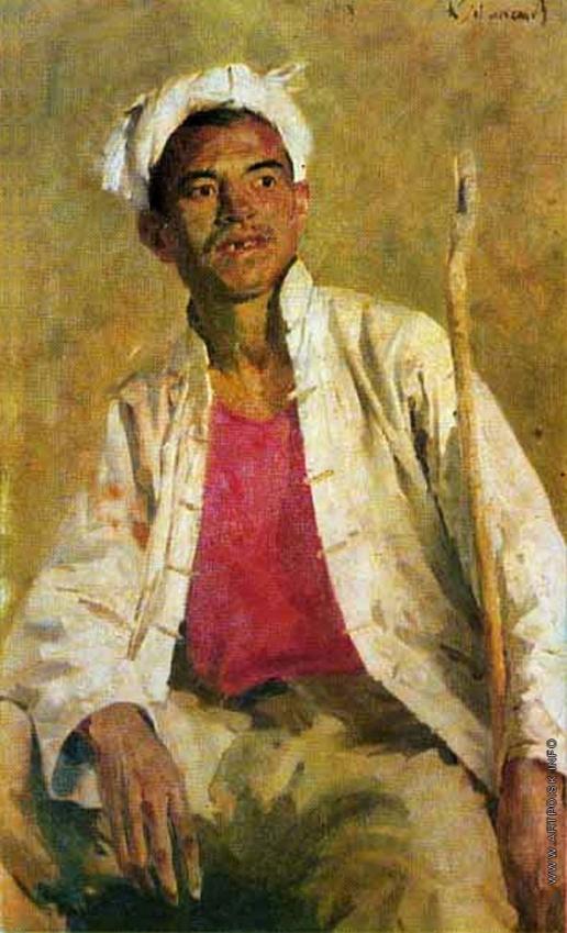 Максимов К. М. Молодой китайский крестьянин