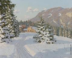Бессонов Б. В. Зимний пейзаж