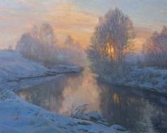 Брусилов С. А. Морозное утро