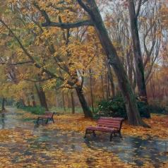 Брусилов С. А. Аллея в парке