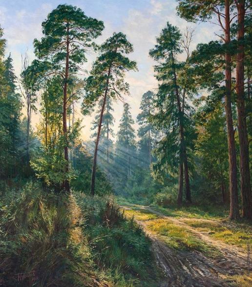 Брусилов С. А. Утренний лес