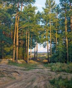 Брусилов С. А. На окраине леса