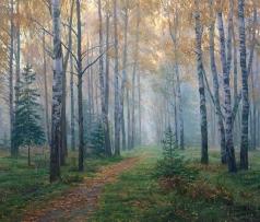 Брусилов С. А. Осеннее утро