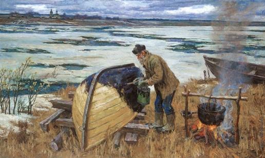 Брусилов С. А. Новая лодка