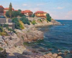 Брусилов С. А. Город у моря