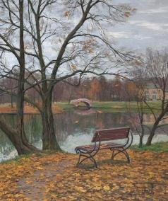 Брусилов С. А. Поздняя осень
