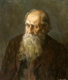 Брусилов С. А. Портрет старика