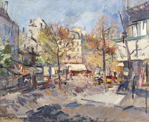 Коровин К. А. Осень в Париже