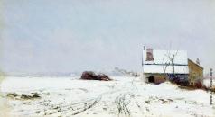 Похитонов И. П. Зимний пейзаж
