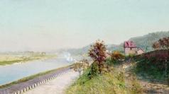 Похитонов И. П. Нормандия. Вид на Суверен-Вандр от императорской фермы