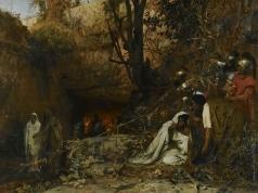 Семирадский Г. И. Гонители христиан у входа в катакомбы