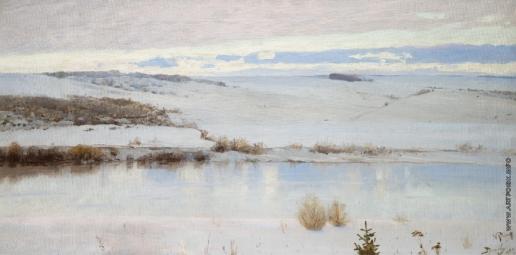 Поленов В. Д. Первый снег