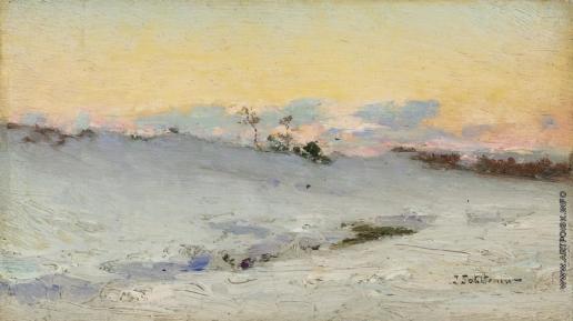 Похитонов И. П. Брессо под снегом