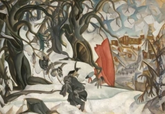 Григорьев Б. Д. Зима. Красная горка в царстве Берендея