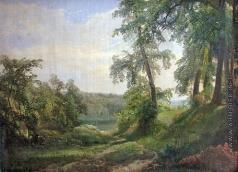 Ясновский Ф. И. Летний пейзаж