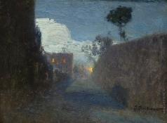 Похитонов И. П. Лунная аллея в Жупиле