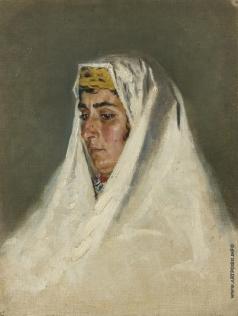 Верещагин В. В. Арабская женщина в Иерусалиме