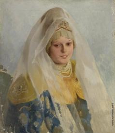 Лебедев К. В. Боярышня