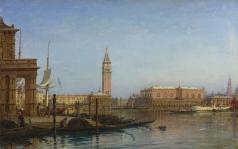Боголюбов А. П. Вид на Венецию