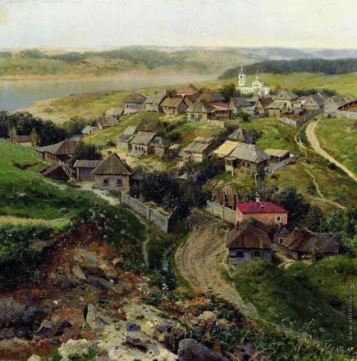 Ярцев Г. Ф. Село