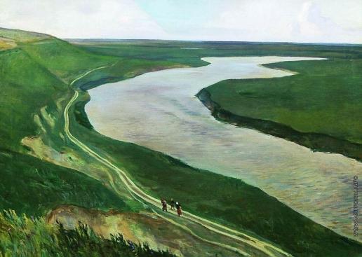 Дейнека А. А. Под Курском. Река Тускорь
