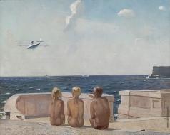 Дейнека А. А. Будущие лётчики
