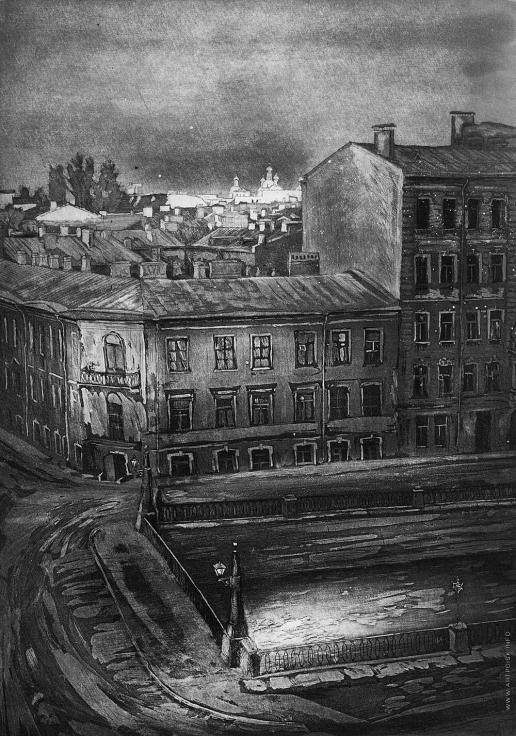 Кубарев Г. В. Вид из окна