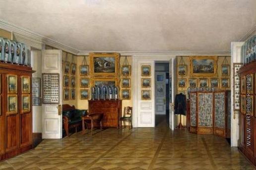 Гау Э. П. Виды залов Зимнего дворца. Камердинерская императора Александра II