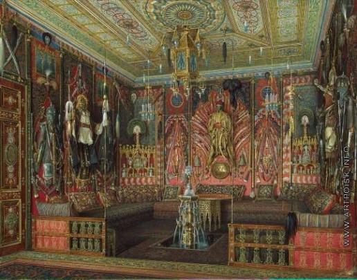 Гау Э. П. Турецкая комната в Екатерининском дворце Царского Села