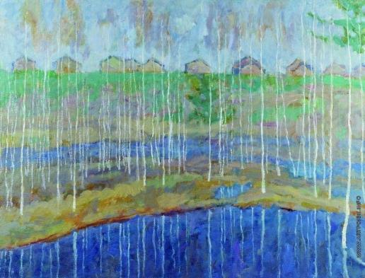 Зверьков Е. И. Весенний паводок