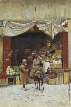 Зоммер Р. К. Овощная лавка