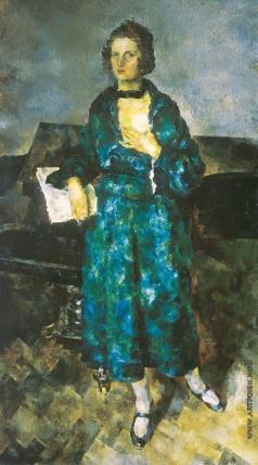 Рождественский В. В. Портрет жены художника
