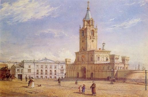 Ясновский Ф. И. Страстной монастырь