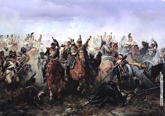 Виллевальде Б. П. Лейб-гвардии Конный полк в сражении при Фершампенуазе. 13 марта 1814 года