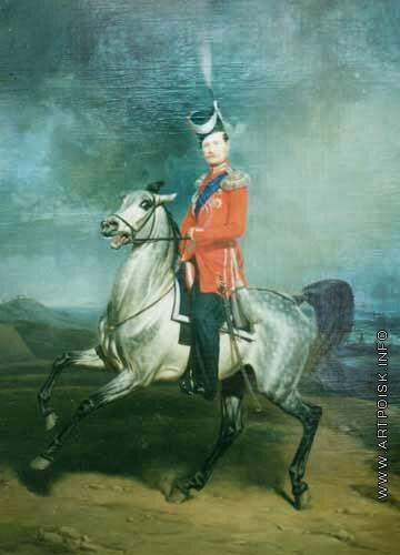 Виллевальде Б. П. Портрет казачьего генерала Шамшина. Музей коневодства