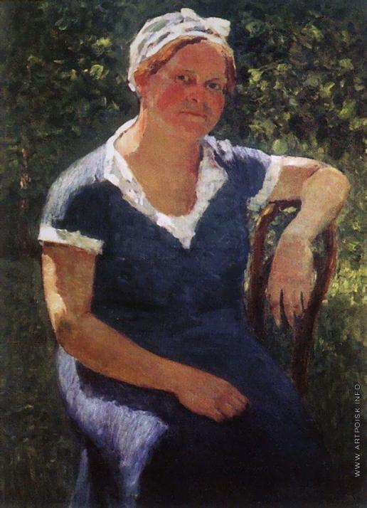 Грабарь И. Э. Портрет Валентины Михайловны Грабарь, жены художника