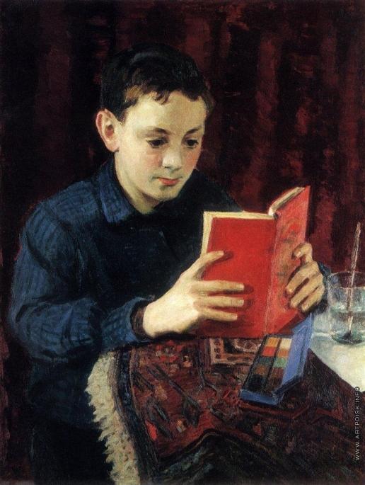Грабарь И. Э. Портрет М.И.Грабаря, сына художника