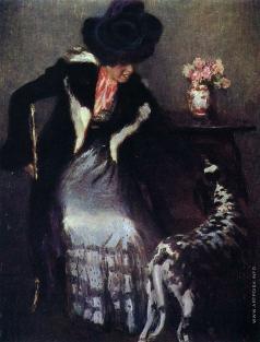 Грабарь И. Э. Дама с собакой