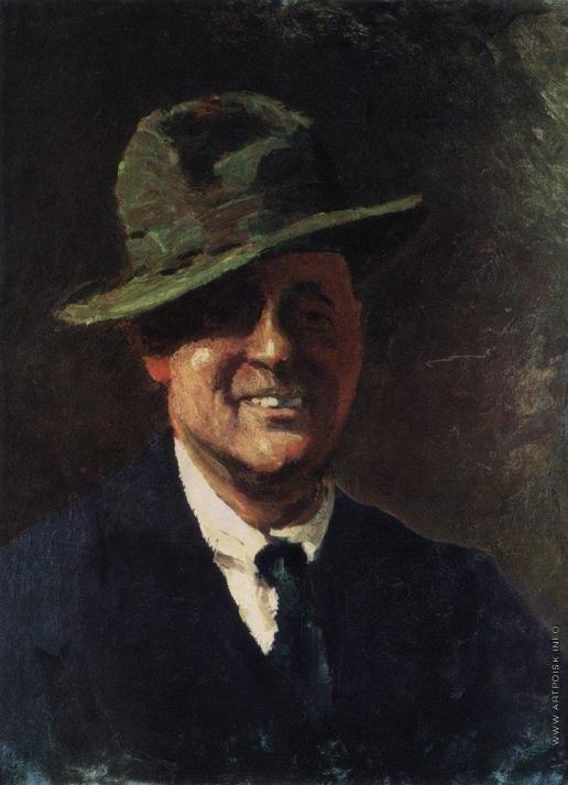 Грабарь И. Э. Автопортрет в шляпе